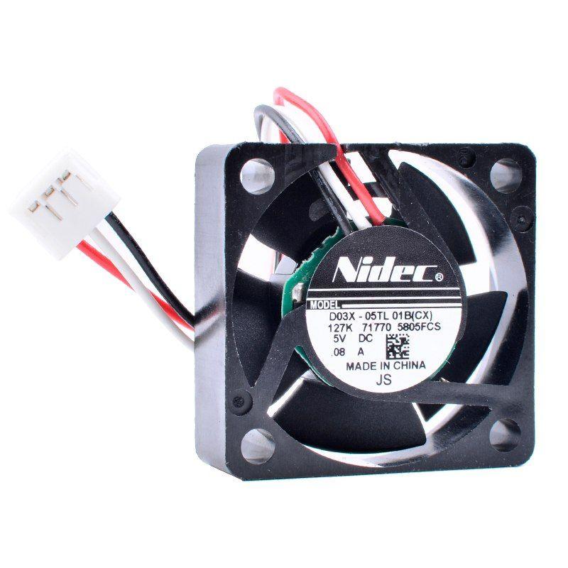Nidec D03x 05tl 01b 5v 0 08a Router Network Box Small Cooling Fan