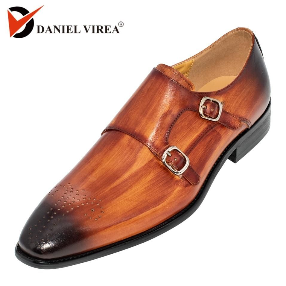 Mens Fashion Casual Solid Lace Up Oxfords Leather Shoes Male Business Shoes for Wedding Party Banquet Prom Tuxedo