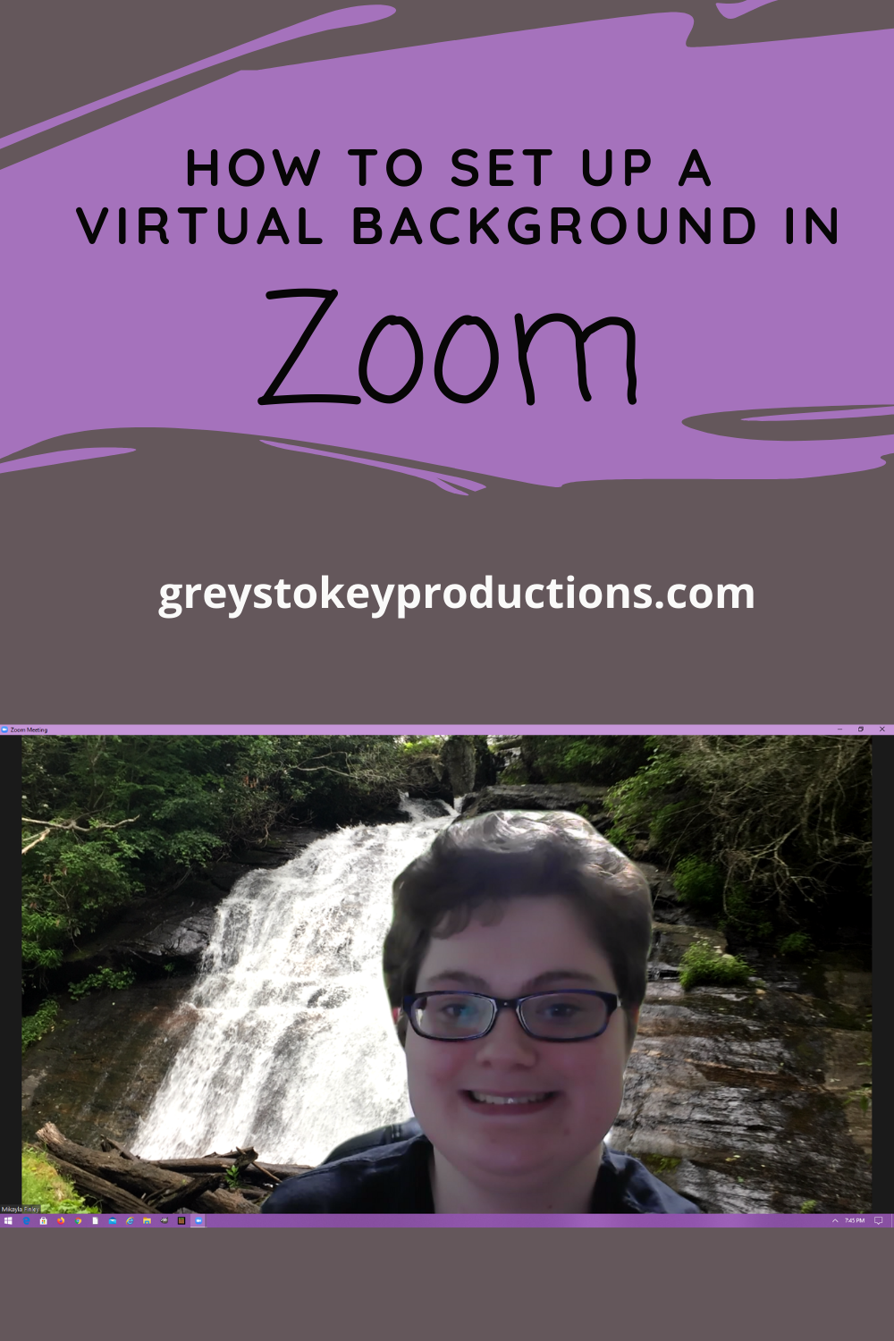 How To Set Up A Virtual Background In Zoom Background Virtual Virtual Art