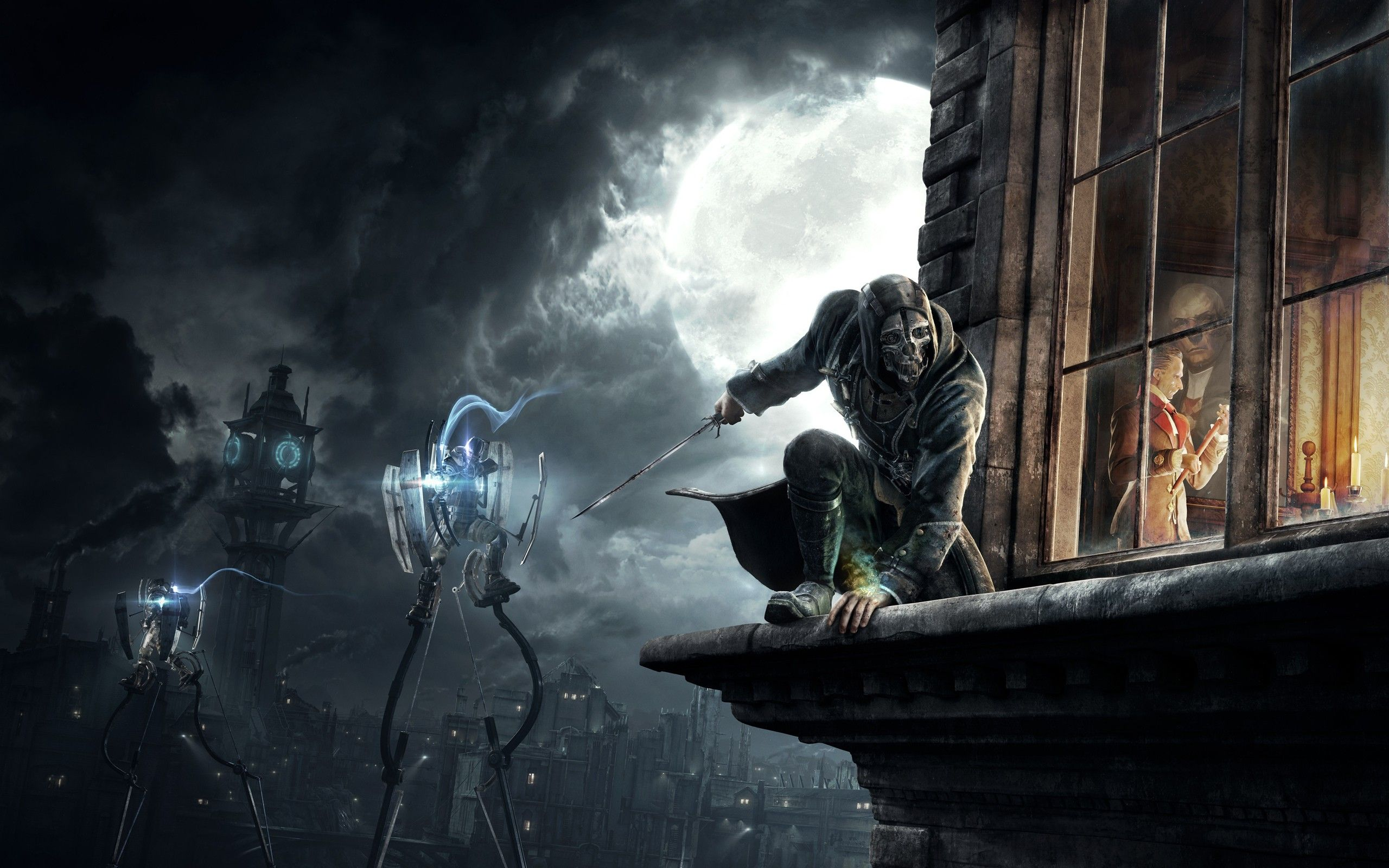 Corvo Attano Digital Art Video Games Dishonored Wallpaper
