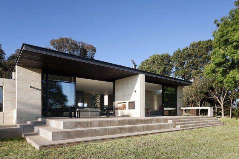 Flat Roof House Designs Australia Flat Roof House House Roof Design House Roof
