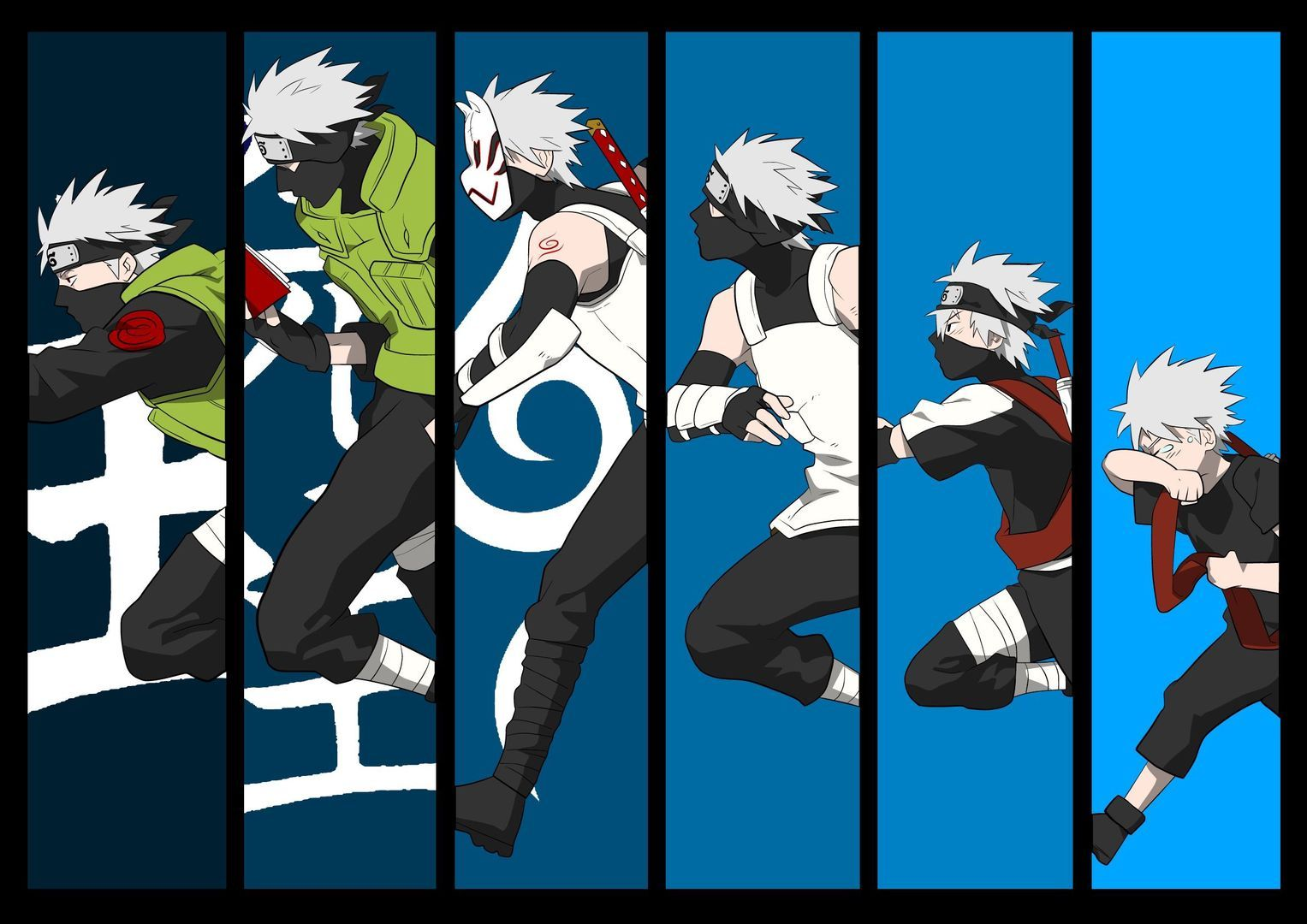 Kakashi All Forms