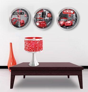 Horloges et lampes Street Art  A partir de 14,90 €  http://goo.gl/6uCrK
