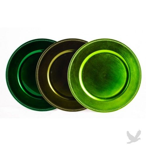 Forest Green Charger Plates by Koyal Wholesale. $54.99 for 24 plates. #wedding #  sc 1 st  Pinterest & Forest Green Charger Plates by Koyal Wholesale. $54.99 for 24 plates ...