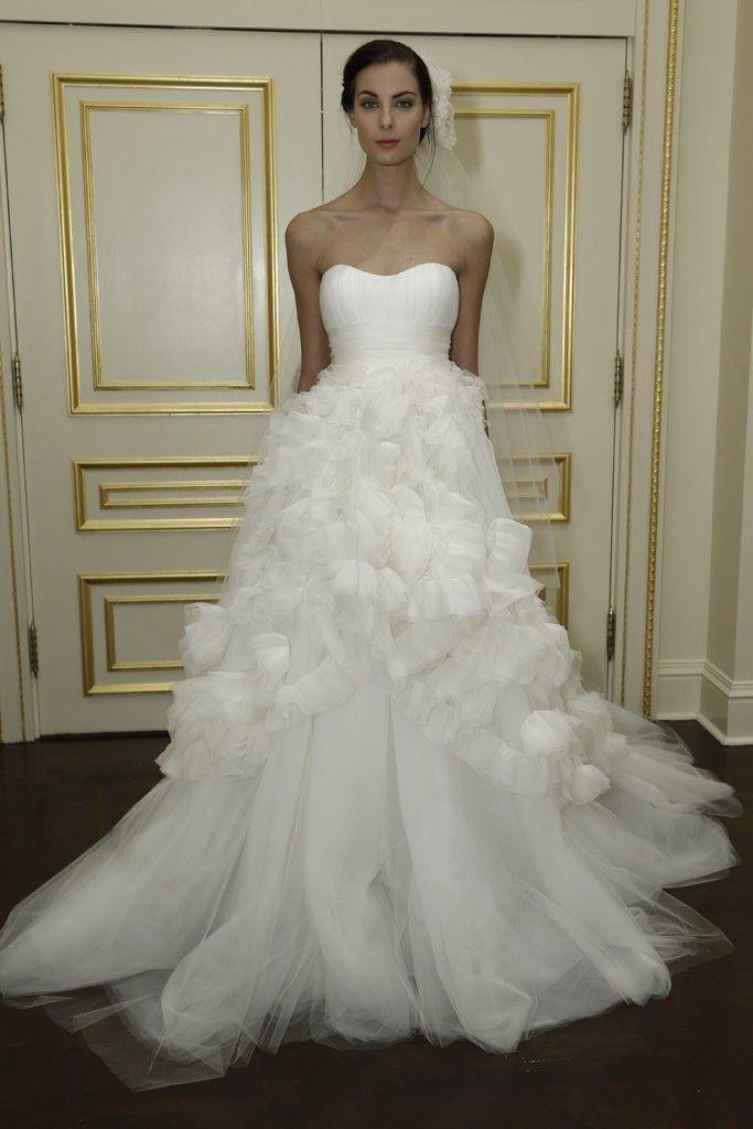 Marchesa Bridal Fall 2015 | Marchesa bridal, Marchesa and Wedding dress