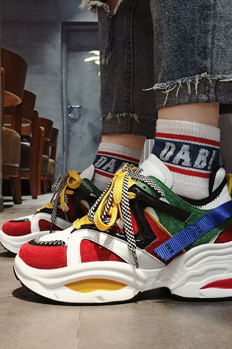 be96ffceef88 EAF EXCLUSIVE CHUBBY PLATFORM SNEAKER IN MULTI COLOR  chubby  chubbyqueens   chubbydumpling  chubbybigbelly  chubbylemons  chubbychaser  chubbybabies  ...