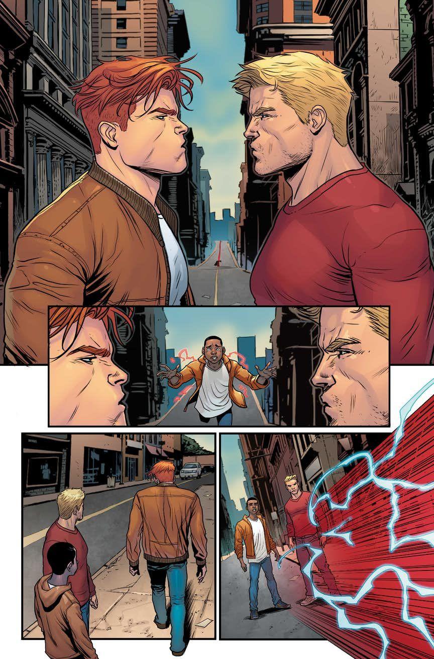 8bd415e5036 Flash War: Impulse Returns To DC Continuity. | The Flash | The flash ...