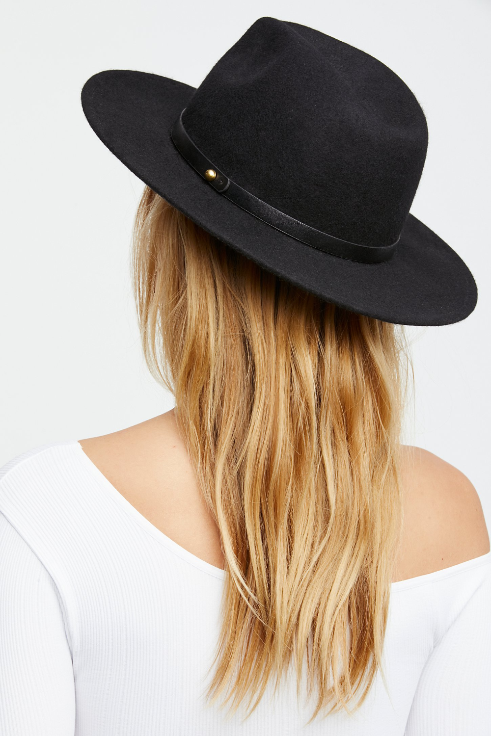 Wythe Leather Band Felt Hat In 2020 Women Hats Fashion Hats For Women Fashion Cap