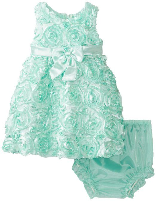 Amazon.com: Rare Editions Baby Baby-Girls Infant Soutach Dress: Clothing