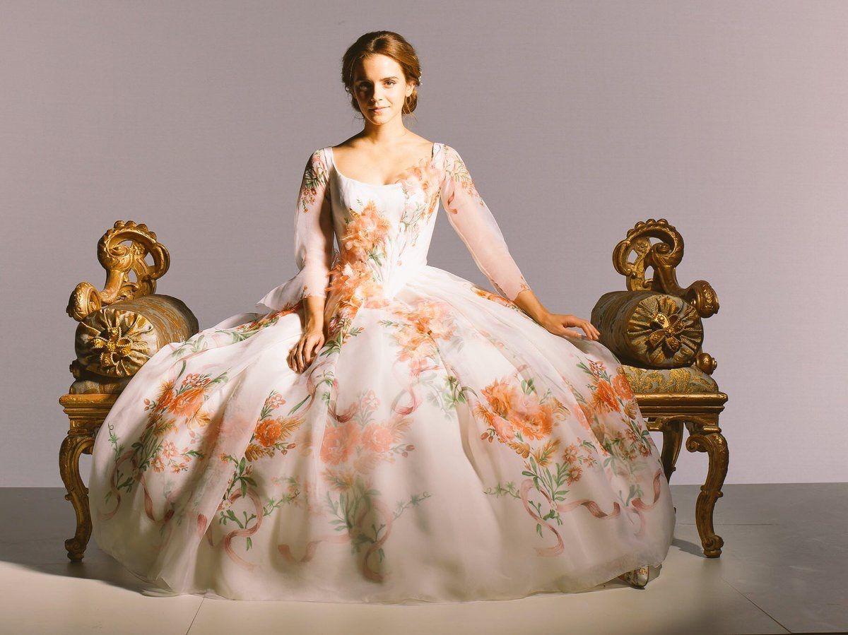 Beauty and The Beast  Belle wedding dresses, Emma watson belle