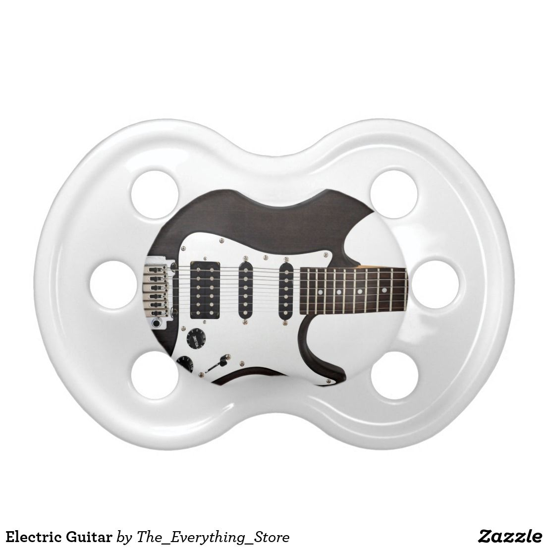Electric Guitar Pacifier | Zazzle com | Music Themed
