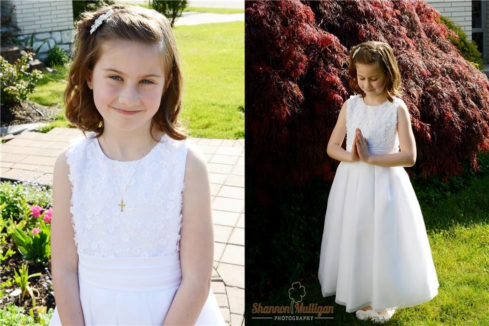 Northern New Jersey Communion Session - Holy Communion - Shannon Mulligan Photography #shanmullphoto