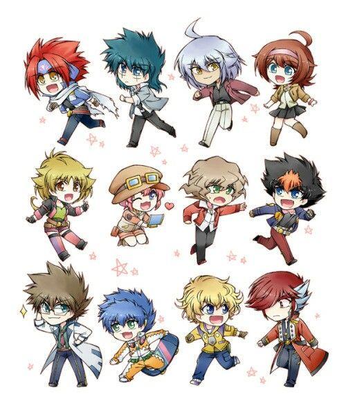 Shogun Steel Character Chibi Chibi Characters Anime Characters Anime