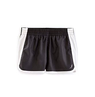 Exertek® Girls' 7-16 Solid Run Shorts