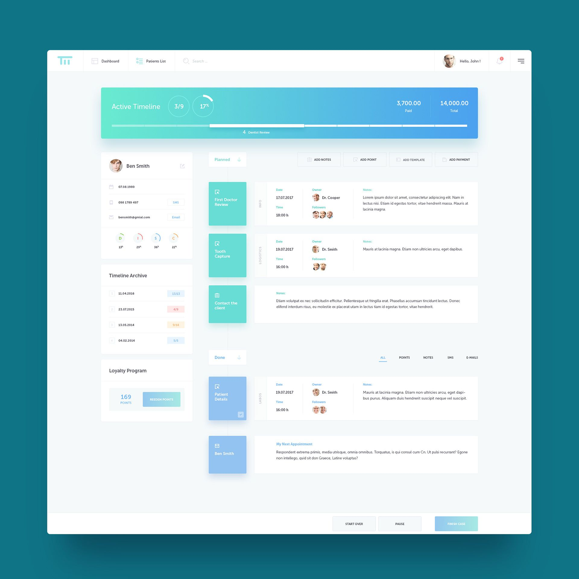 Timeline Project Management Tool On Behance Project Management