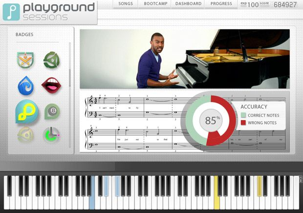 Interface Of Playground Sessions