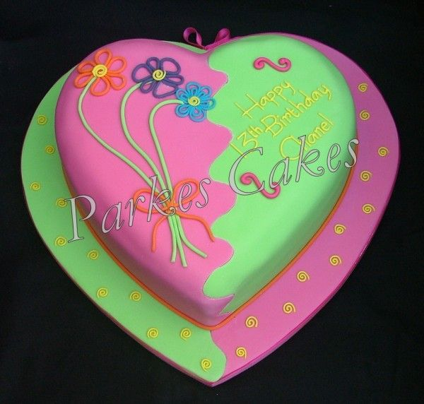 Teenage Girl Cake Ideas bang on trend birthday cake for ...