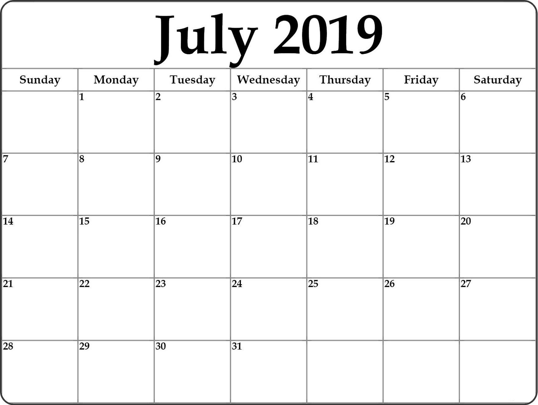 Month At A Glance Calendar Printable 2019 Calendar Shelter With Month At A Glance Blank Calendar Template Best Sample Template Di 2020