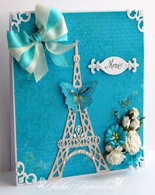 Sasha's Inspirations: Pretty Little Ribbon Shop January Challenge - Flowers & Ribbons
