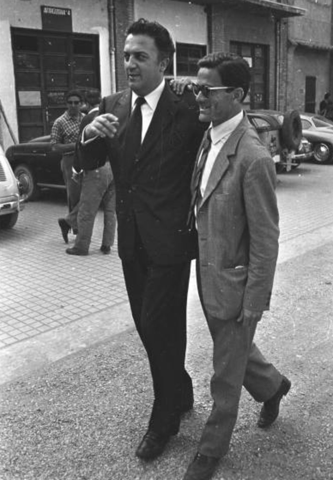 Two Great Film Directors Federico Fellini Pier Paolo Pasolini
