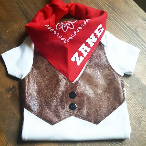Cowboy First Birthday Western 1st Birthday Outfit Baby Connor Bday