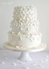 simple white wedding cake - Google Search