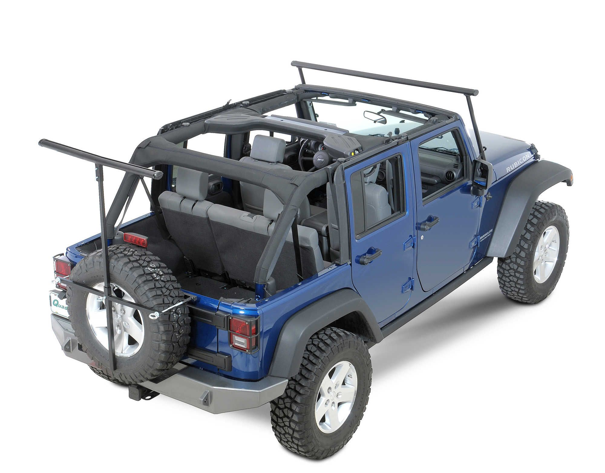 The Rack Is Different From Other Overhead Racks For Jeep It Was Designed To Accommodate Your Hardtop Or Fold Jeep Wrangler Jeep Wrangler Soft Top Small Kayak