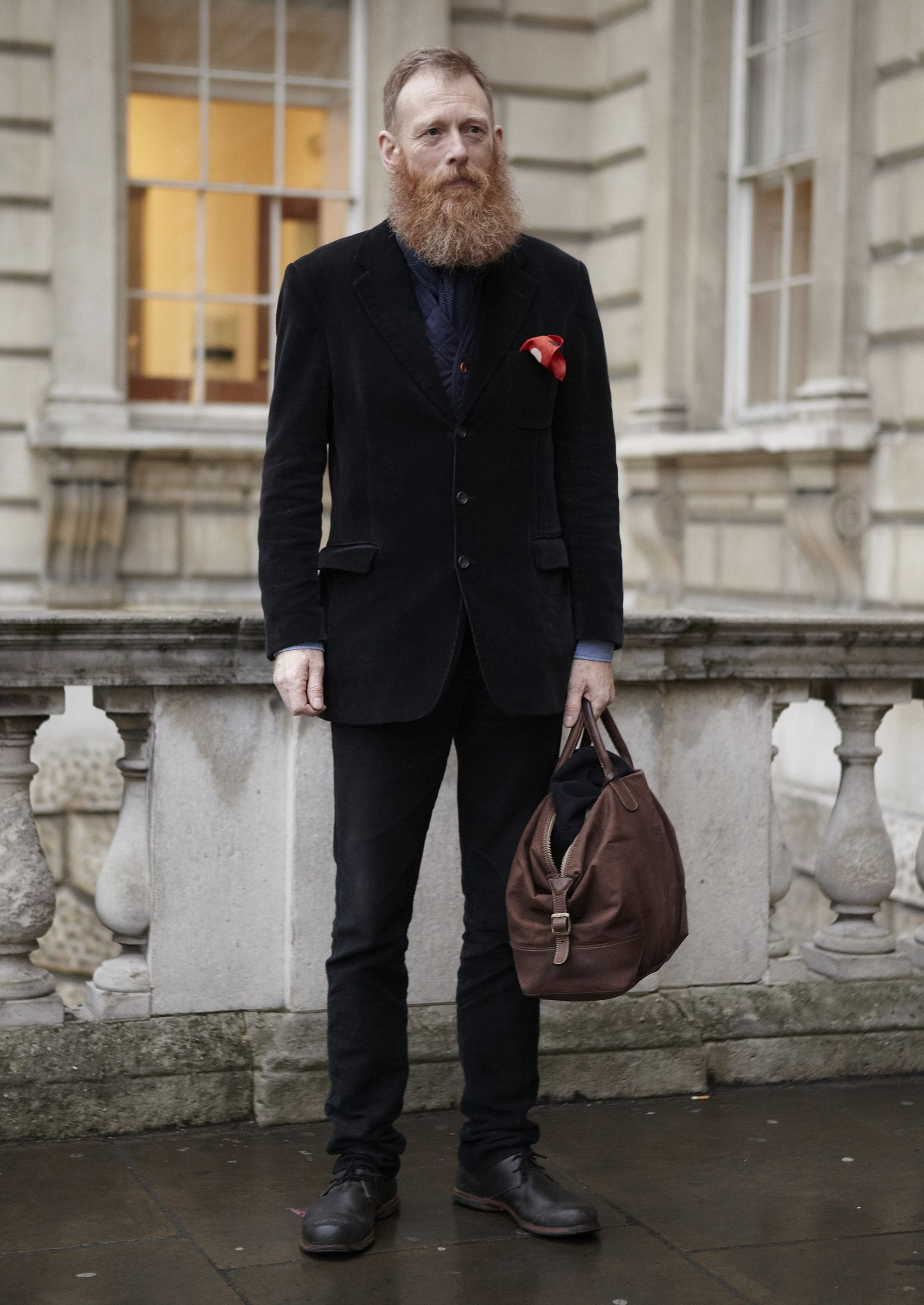 #LFW  #Men #Streetstyle Photographer: Tomas Hein