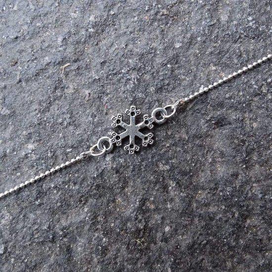 DIY Sneeuwvlok Armband - Busy Beads