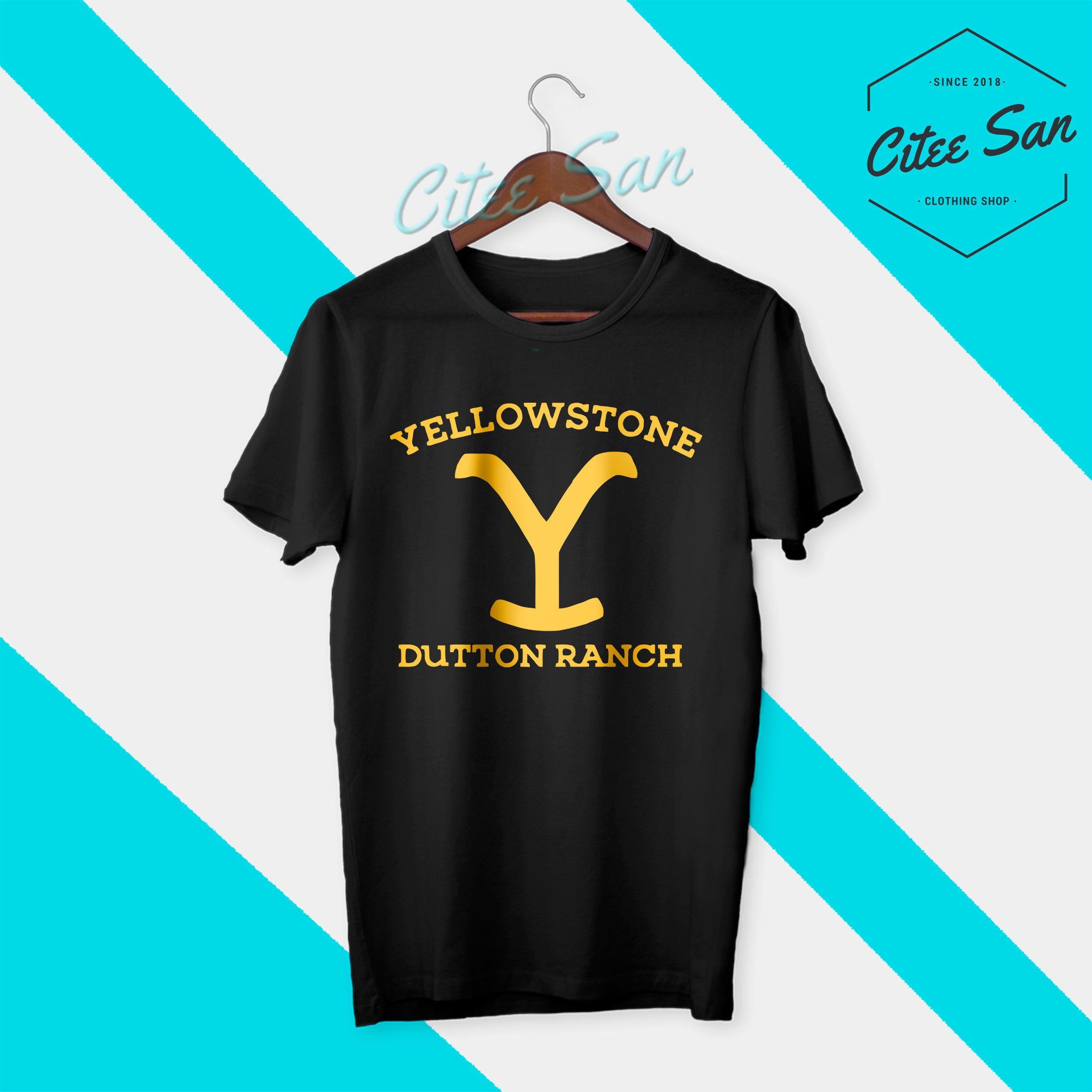 Yellowstone Dutton Ranch T Shirt Yellowstone Vintage Shirt Etsy Parks Shirts Vintage Shirts Yellowstone T Shirts