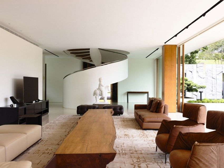 Modern residence with a luminous character in singapore 65btp house http