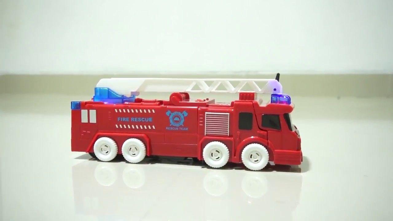 Bermain Truk Damkar Pemadam Kebakaran Mainan Mobil Mobil