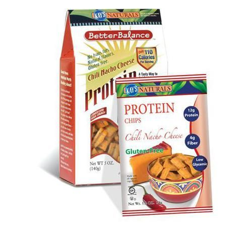Kay's Naturals Better Balance Protein Chips - Chili Nacho Cheese - Case Of 6 - 5 Oz