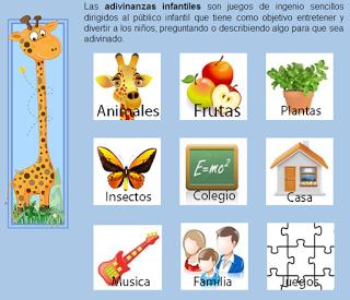 Adivinanzas Infantiles Adivinanzas Educacion Infantil Dibujos Para Ninos