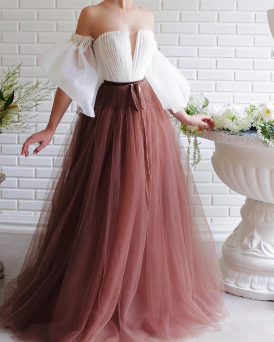 Whimsical Organza Gown #casualjumpsuit
