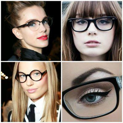 3a246f4888 Tips de Maquillaje para Chicas con Lentes | maquillaje | Maquillaje ...
