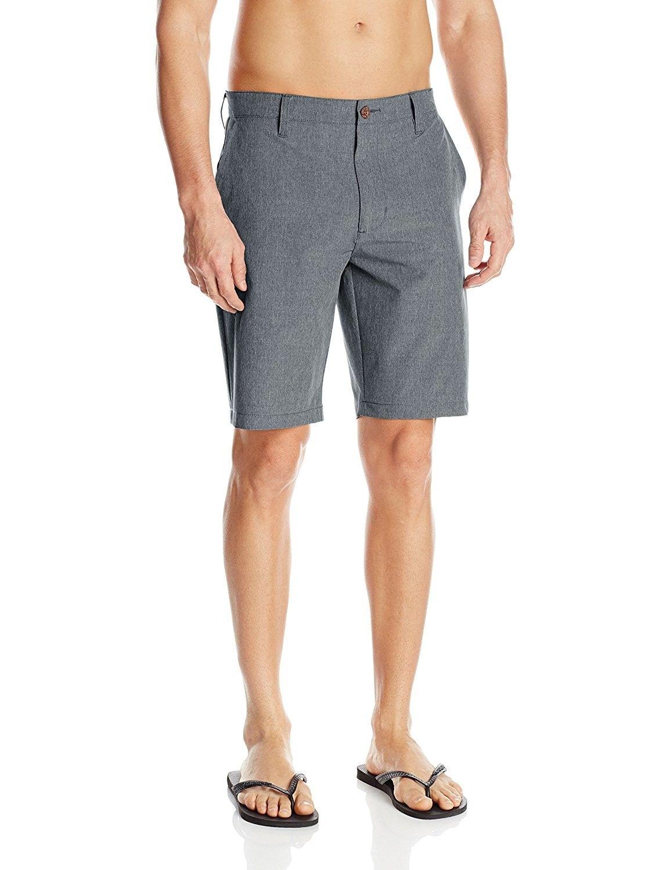 Men S Benefits Hybrid Short Black Cd1281la54b Rvca Mens Mens Outfits Short Outfits [ 1500 x 1154 Pixel ]