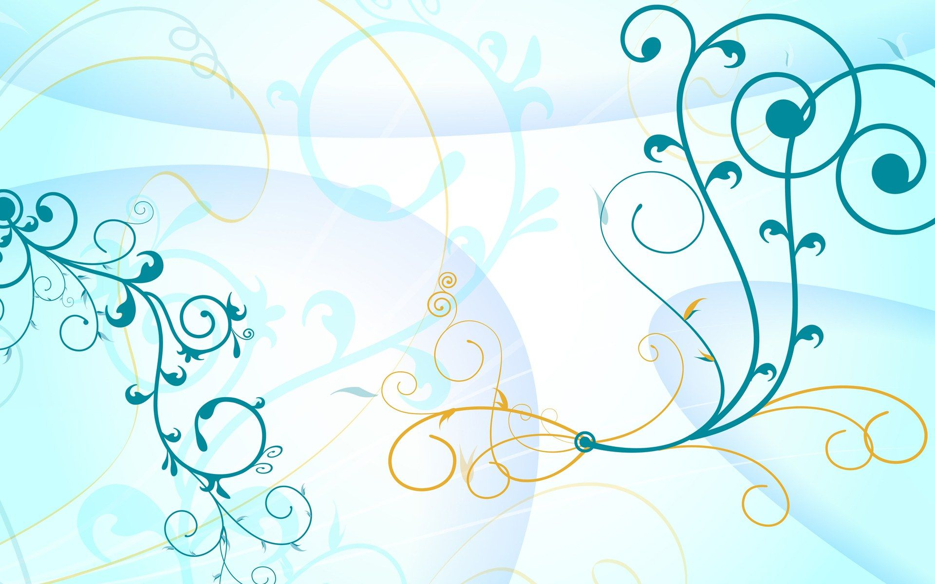 turquoise curves x vector wallpaper Wallpapers