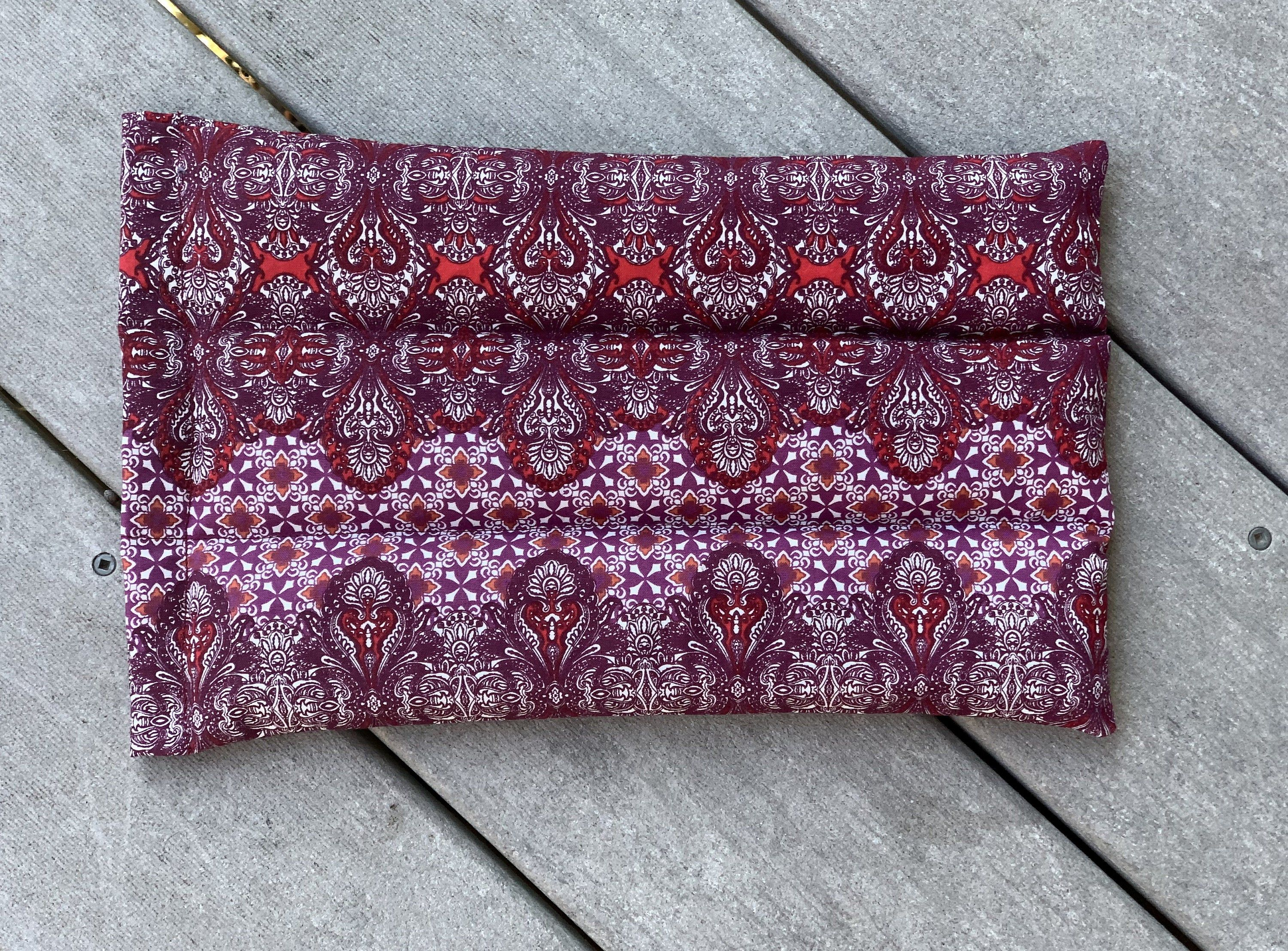 Large Wrap, Heating Pad, Cherry Pit Pack, Flax Pack, Hot