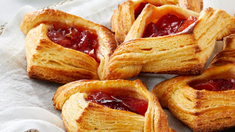 Jam-Filled Croustades | Breakfast pastries, Martha stewart recipes, Pastry