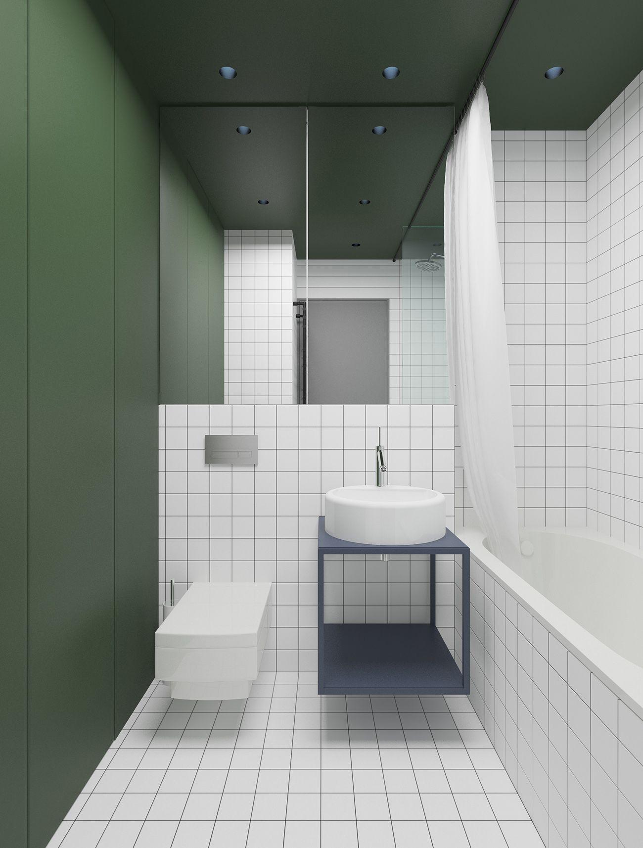 Hoffman interior design bathroom pinterest for Kacheln badezimmer