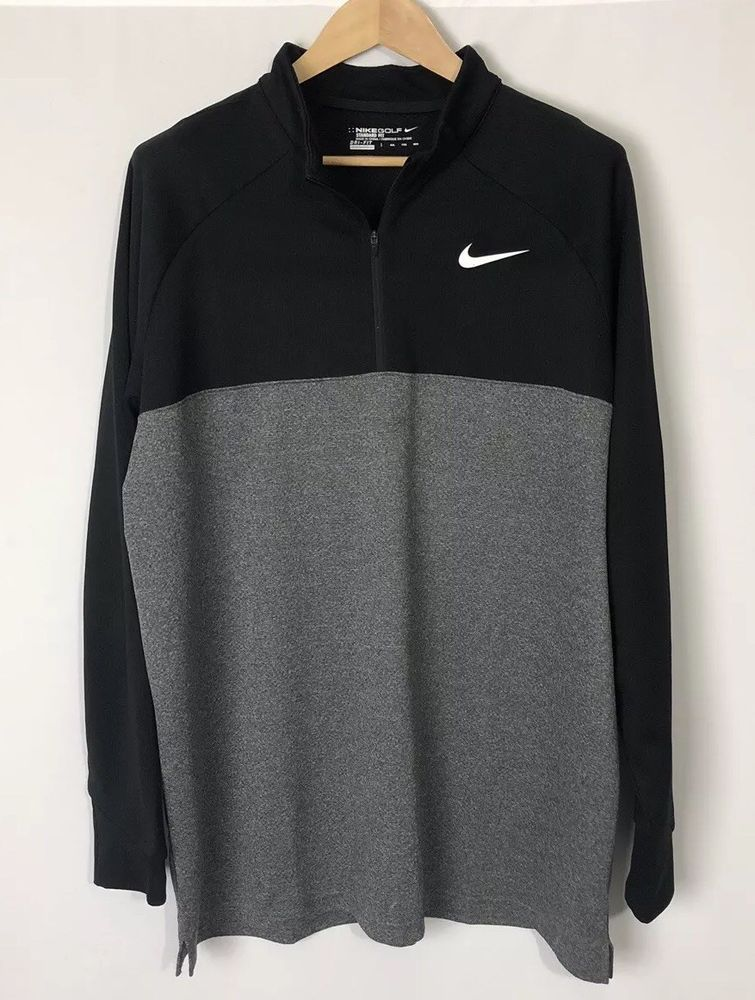 cheaper 3d0e9 cf34a Details about Nike Men's Dri Fit NIKE Sport Shirt Golf Slate ...