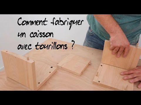 Comment fabriquer un caisson avec tourillons ? - YouTube   Caisson cuisine, Caisson, Caisson bois