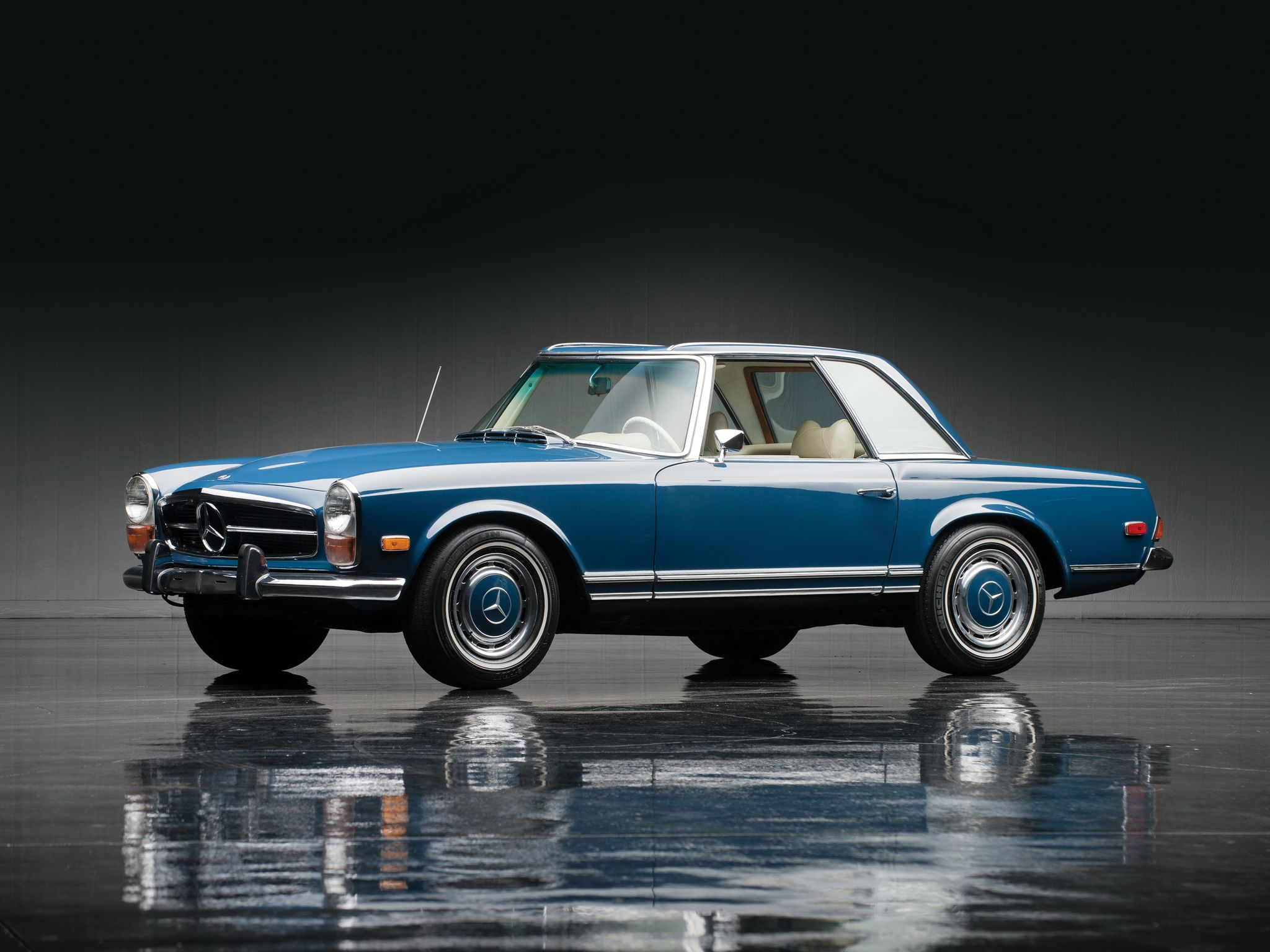 Mercedes benz 280sl car vehicl wrap mercedes benz merced pagoda - 1967 71 Mercedes Benz 280 Sl Us Spec W113