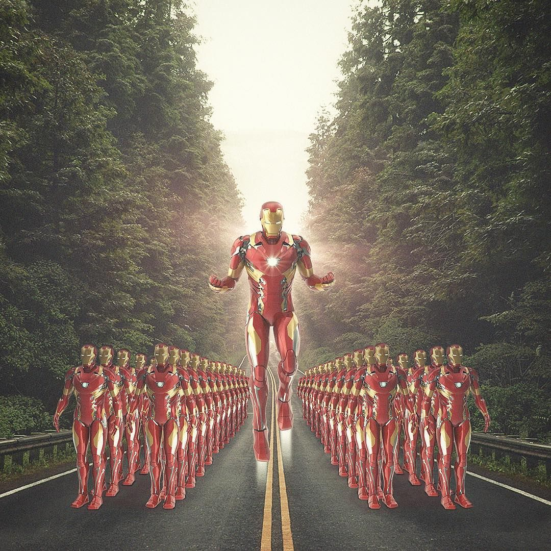 We are Iron Man. avengers..Art by me..digitalart