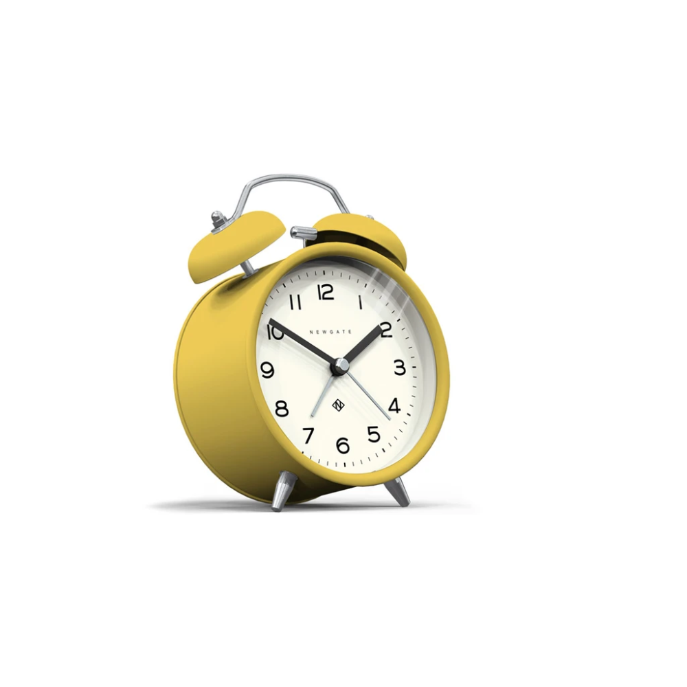 Charlie Bell Echo Alarm Clock In Cheeky Yellow In 2020 Alarm Clock Modern Alarm Clock Clock