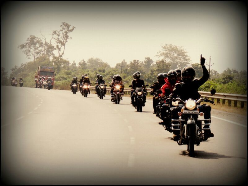 When we rode to daman india celebrating our club s st