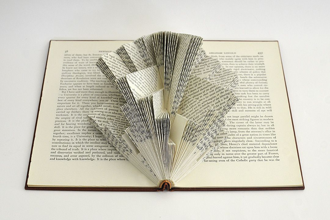 In My Book Sculptures I Go Beyond The Printed Word Focusing On