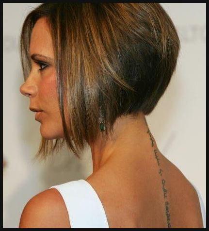 Bob Frisuren Victoria Beckham Mittellange Haare