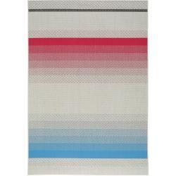 benuta Plus In- & Outdoor-Teppich Capri Blau/Pink 140x200 cm - für Balkon, Terrasse & Gartenbenuta.d #indoorgardening